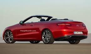 2018 mercedes benz e class cabriolet. simple 2018 2018 mercedesbenz eclass cabriolet rendered might debut in geneva  throughout mercedes benz e class cabriolet