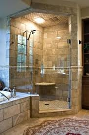 master bathroom corner showers. Dream Shower Omg Can You Have A Bathroom That Big Is It Legal (corner All Glass) Master Corner Showers T
