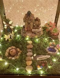 supplies for indoor fairy garden lantern