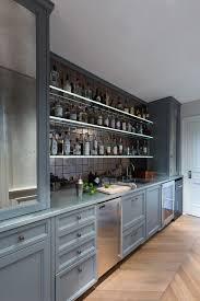 wet bar cabinet home bar transitional with chevron wood floor bar sink