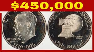 The Single Rarest 1976 Eisenhower Dollar Worth Big Money Rare Ike Dollars To Look For