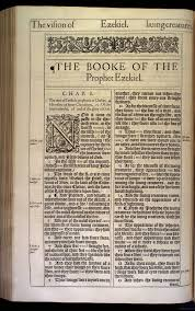 Genesis 1 And 2 Venn Diagram Ezekiel Chapter 1 Original 1611 Bible Scan Courtesy Of Rare