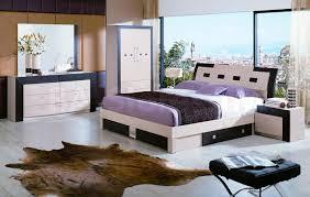 Modern Bedroom Furniture Nj Concorde 5 Pc Bedroom Set Bed 2 Nightstands Dresser And Mirro