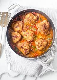 Chicken and kimchi is simmered with silky tofu for this delicious and soul warming korean chicken jjigae recipe. Kimchi Braised Crispy Chicken Thighs The Urban Poser