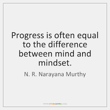 Mindset Quotes Delectable Progress Is Often Equal To The Difference Between Mind And Mindset
