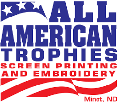 All American Trophies Screen <b>Printing</b> and Embroidery ...