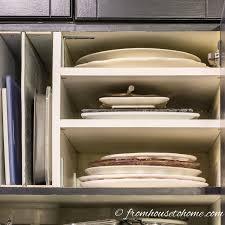 organizing kitchen cabinets diy over the refrigerator cabinet organizer