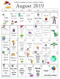 August Calandar August Calendar Huntington Beach Child Care