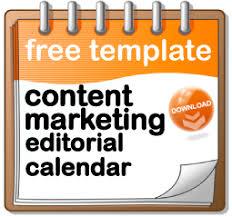 Content Marketing Editorial Calendar Template 2014 Pam