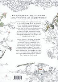 Bolcom Kleur Je Eigen Van Gogh Op Nummer Colour Your Own Van