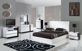 Modern Black And White Bedroom Design Ideas For  Bedroom - Bedroom idea images