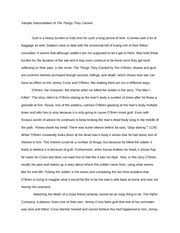food inc response essay eng response to documentary  3 pages sample interpretation of the things they carried