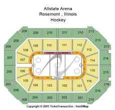 Allstate Seating Chart Allstate Arena Tickets And Allstate Arena Seating Charts