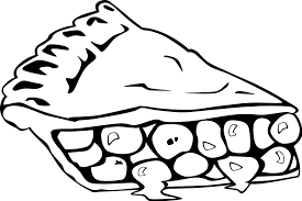 apple pie slice drawing.  Pie Pie  Free Stock Photo Illustration Of A Slice Pie  17485  Transparent To Apple Slice Drawing O