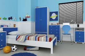 miami 5 piece children s bedroom set blue white outstanding boys furniture