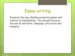 poetry lesson ozymandias essay