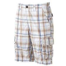 Urban Pipeline Shorts Size Chart Details About Mens Urban Pipeline Plaid Cargo Shorts Size 34 Classic Length Msrp 44 Nwt