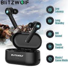Blitzwolf Bw-flb2 Tws Oyun Kulaklık Düşük Gecikme Kablosuz Bluetooth 5.0  In-ear Kablosuz Kulaklık Hifi Ses Mikrofonlu Kulaklık indirim -  Kulaklıklar-telefon Ve Radyo Kulaklıkları \ Benzersiz-Baslat.cam
