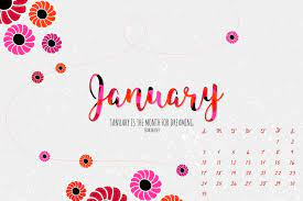 January 2021 Calendar Wallpapers ...