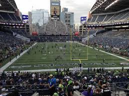 Seahawks Seating Chart Hawks Nest Centurylink Field Section 123 Seattle Seahawks