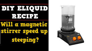 will a magnetic stirrer sd up steeping