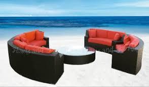 Outdoor Wicker Sectional Sofa Patio Furniture Ebay Luxury Furniture