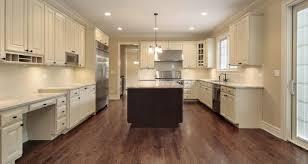 off white cabinets dark floors. Perfect Floors Off White Kitchen Cabinets Dark Floors To K