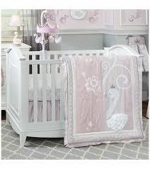 Lambs & Ivy Swan Lake 4 Piece Crib Bedding Set