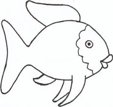 Small Picture the rainbow fish template Can use this for a Quiet book page