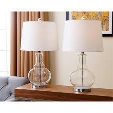 image is loading abbyson living griffin clear glass table lamp in