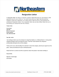 9 Official Resignation Letter Examples Pdf Examples