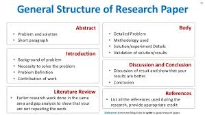 Format of research papers Free Essays and Papers