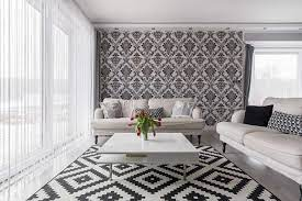black and white living room decor ideas