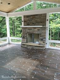screened in back porch with fireplace love back porch project the endearing home this look like it will just beautiful when completed