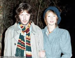 eric clapton left pictured with patti boyd right the ian thought her