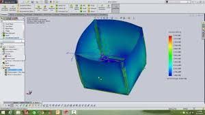Solidworks Simulation Pressure Vessel Design Solidworks Simulation Liquid Pressure