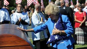 Airman laid to rest after being shot down in 1965