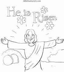Easter Coloring Pages For Preschoolers Religious Bible Free