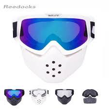 <b>New</b> Mouth Filter Ski Goggles Modulator Detachable <b>Motocross</b> ...