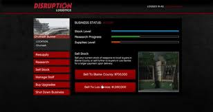 Gta 5 Biker Business Payout Chart Selling Stock Bunkers Gunrunning Grand Theft Auto