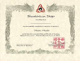 Martial Arts Certificate Templates Azamikan Traditional Japanese Martial Arts In Frankfort In