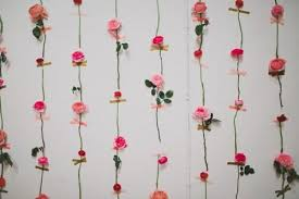 diy wedding wall decorations diy fresh flower wall for wedding decor weddi on wedding wall decoration