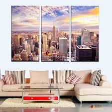 big city canvas wall art set of 3