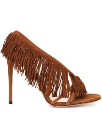Wild Fringe Sandals