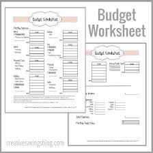 building a home budget 25 unique budget worksheets ideas on pinterest budget planner