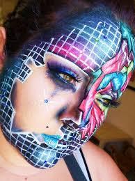 futuristic by maria makeupbee look futuristic 32529 creative makeup on makeupbee futuristic make up and face