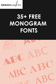 Best websites with free svgs. 35 Best Free Monogram Fonts For Cricut And More Sarah Maker