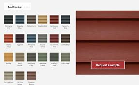 Mitten Siding Color Chart Vinyl Siding Colours And Styles Tcworks Org