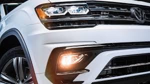 Vw Atlas Fog Light Kit 2018 Volkswagen Atlas R Line Revealed Autoevolution