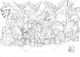 Dessin De Tous Les Pokemon Du Monde L L L L L Duilawyerlosangeles
